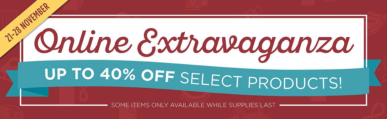 Online Extravaganza Sale time!