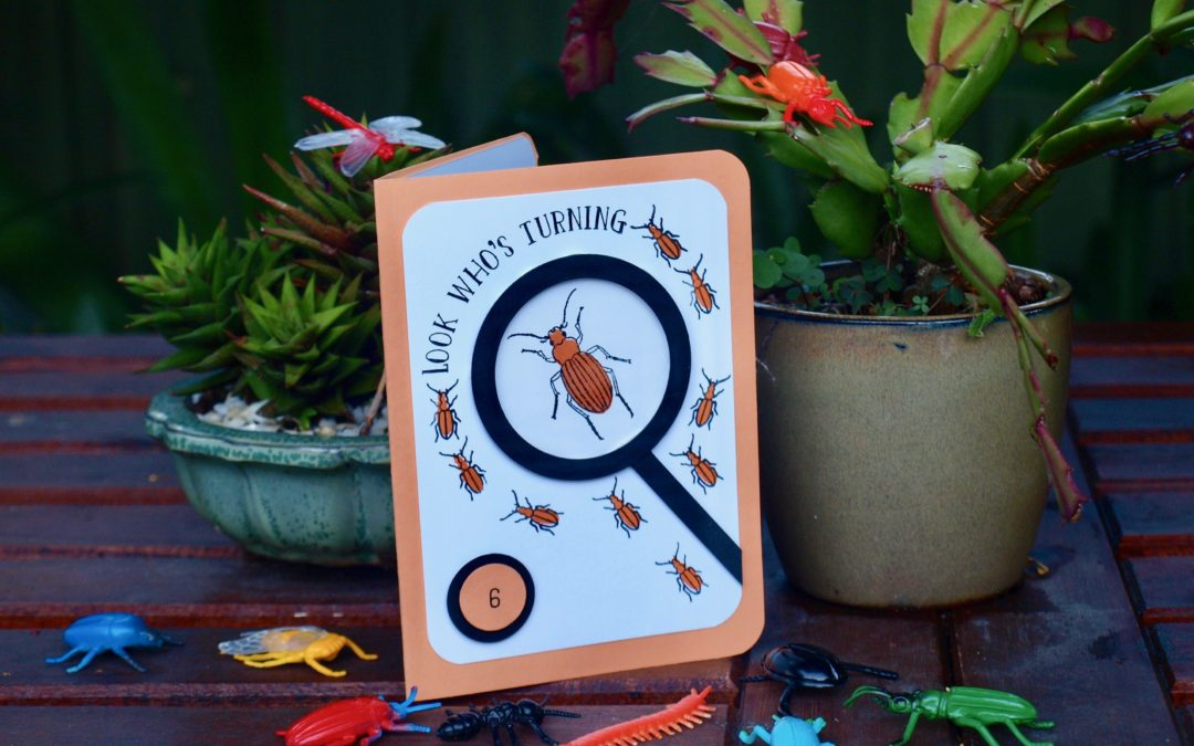 Stamping' Up! Beetles and Bugs Birthday Card