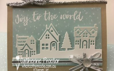 """Joy to the World"" Christmas Card"