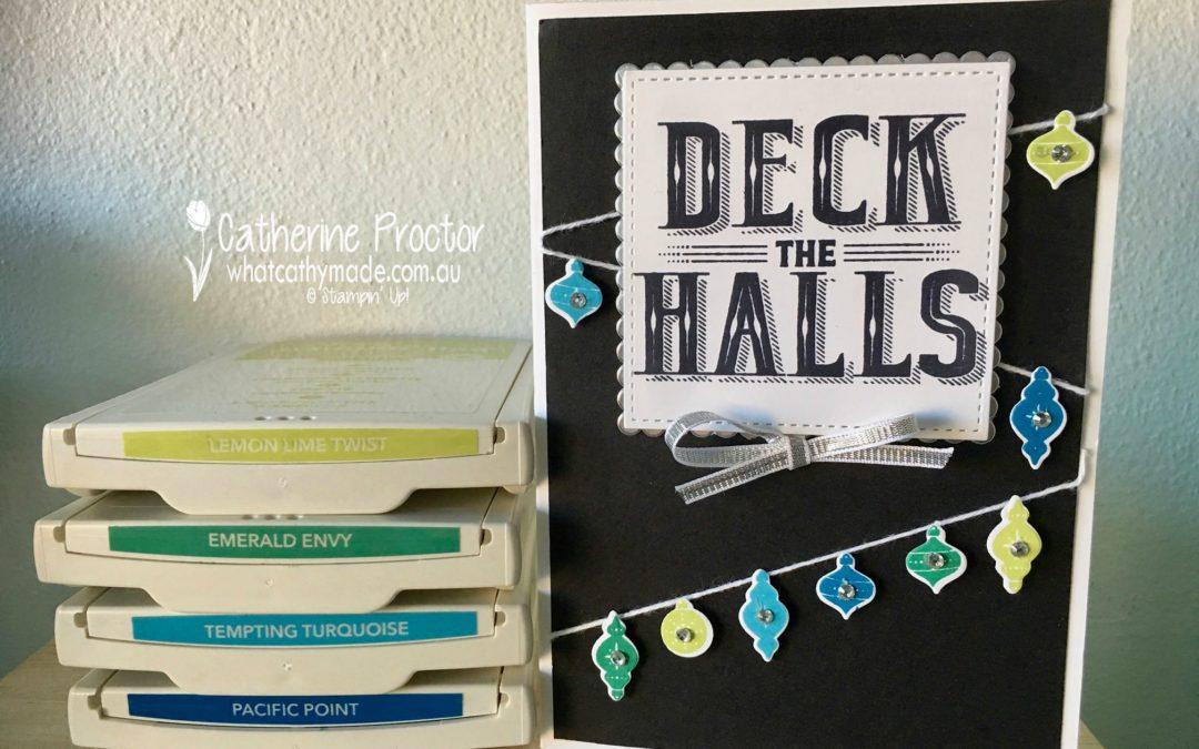"""""""Deck the Halls"""" Christmas Card"""