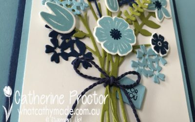 Art With Heart Colour Creations Blog Hop: Week 1 Balmy Blue