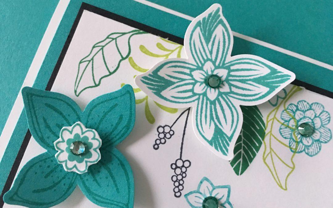 Art With Heart Colour Creations Blog Hop: Week 3 Bermuda Bay