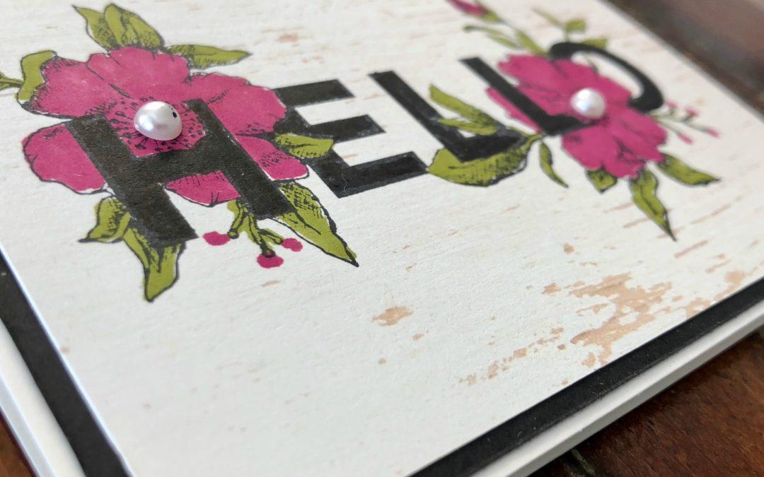 Art With Heart Colour Creations Blog Hop: Week 4 Berry Burst