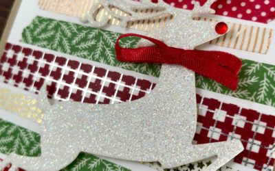 Art With Heart: Heart of Christmas Week 6 Dashing Deer