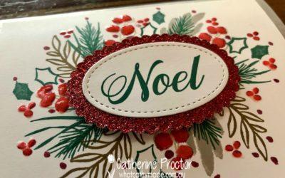 Art With Heart: Heart of Christmas Week 7 Peaceful Noel