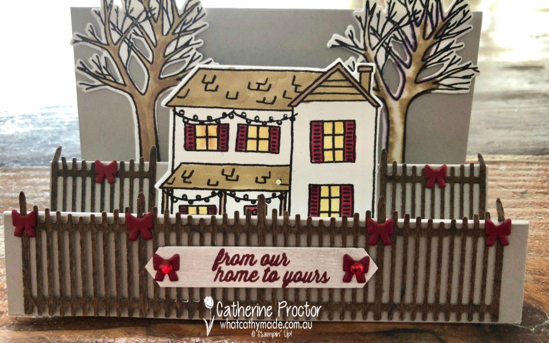 Art With Heart: Heart of Christmas Week 11 Farmhouse Christmas step card