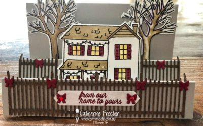 Art With Heart: Heart of Christmas Week 11 Farmhouse Christmas step card