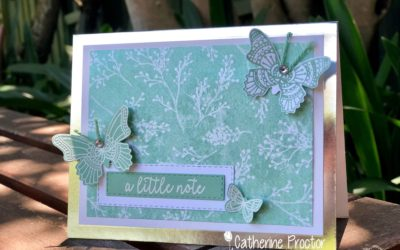 Art With Heart Colour Creations Blog Hop: Week 30 Mint Macaron