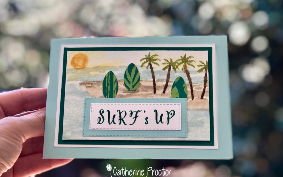 Art With Heart Colour Creations Blog Hop: Week 38 Pool  Party