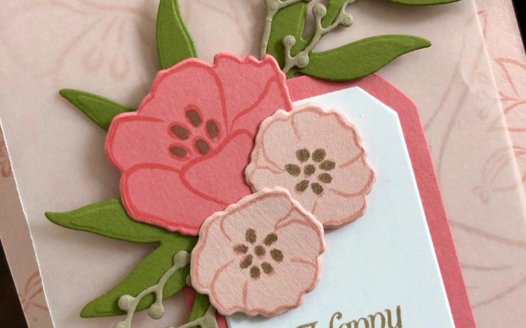 Art With Heart Colour Creations Blog Hop: Week 40 Powder Pink