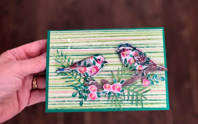 Art With Heart Colour Creations Blog Hop: Week 45 Shaded Spruce