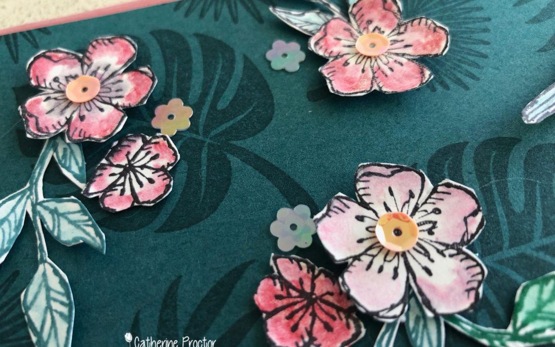 Art With Heart Colour Creations Blog Hop: Week 52 Pretty Peacock