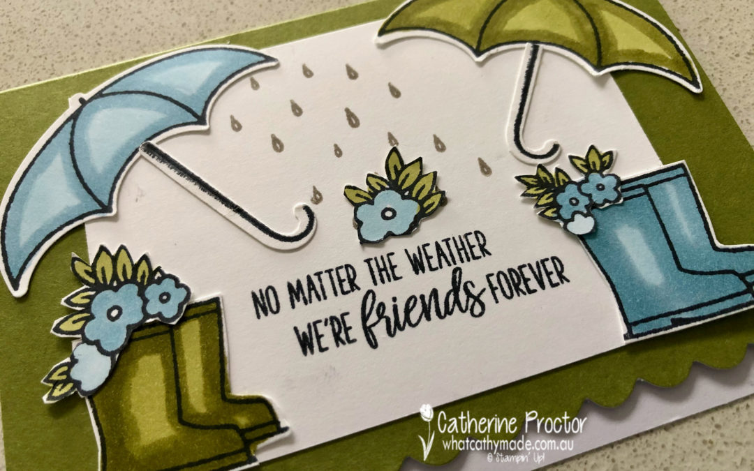 Spreading Love and Sunshine with Under My Umbrella Cards