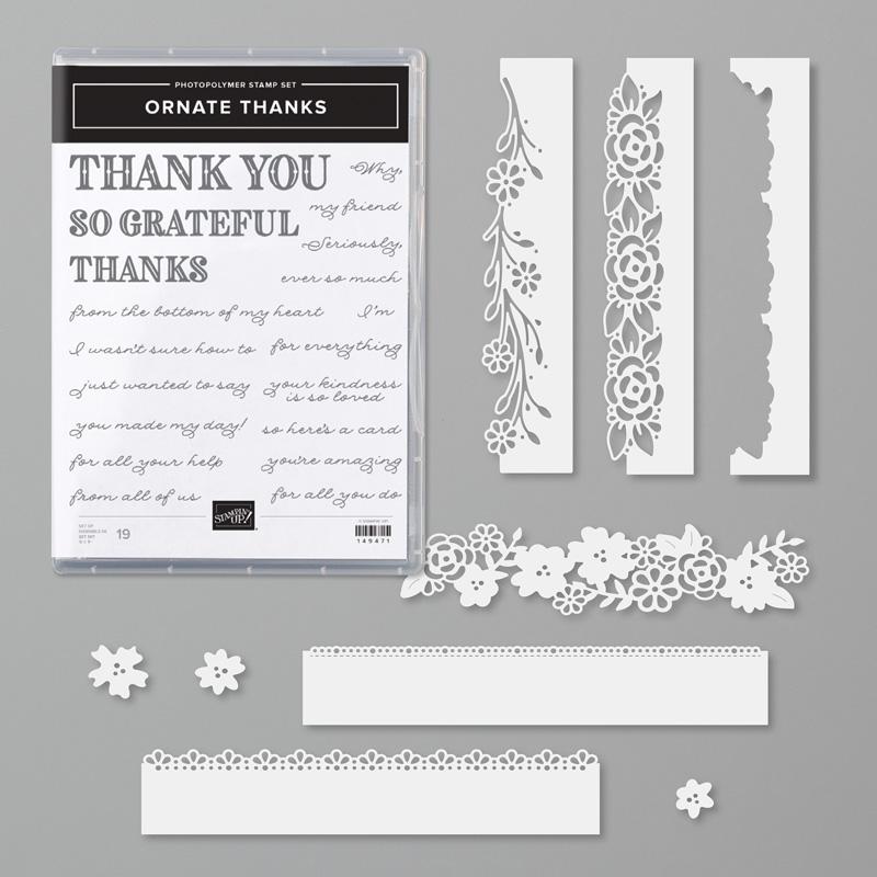 "Pack of 10 /""THANKS/"" die cut sentiments"
