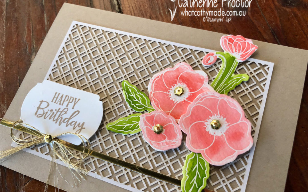 Farewell to 2019-20 Retiring Products – Peaceful Poppies Elements