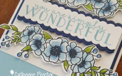 Art With Heart Colour Creations Showcase: Week 1 Balmy Blue
