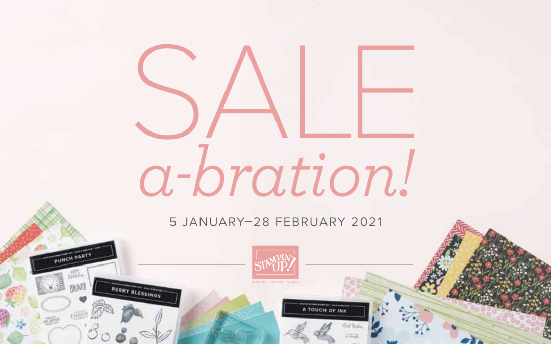 January-June Mini and SALE-a-bration launches today!