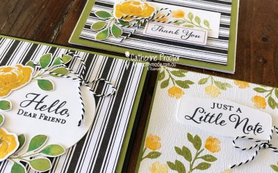 Stampin' Up! Old Olive – Week 31 AWH Colour Creations Showcase