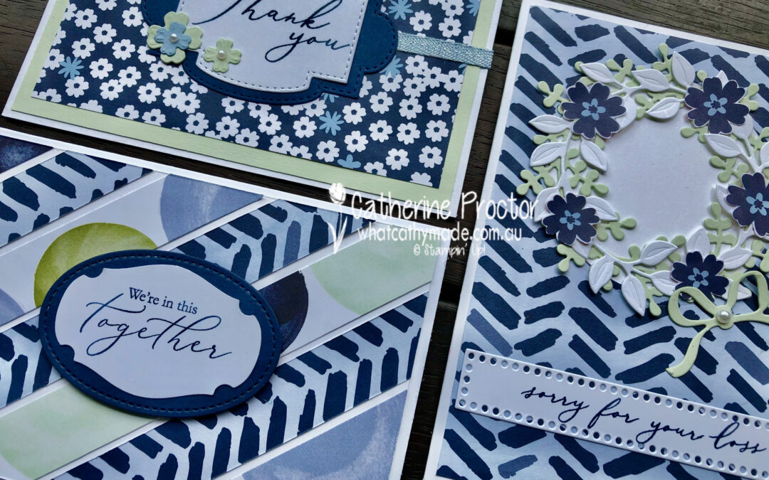 Stampin' Up! Night of Navy – Week 30 AWH Colour Creations Showcase