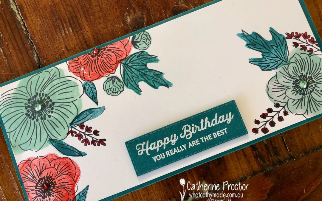 Stampin' Up! Pool Party – Week 35 AWH Colour Creations Showcase