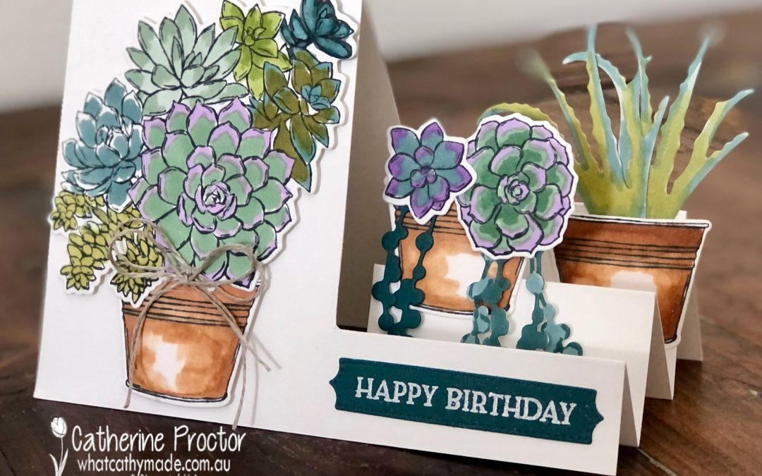 Stampin' Up! Pretty Peacock – Week 37 AWH Colour Creations Showcase