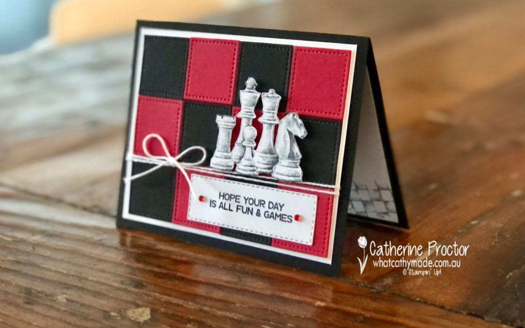Stampin' Up! Real Red – Week 40 AWH Colour Creations Showcase