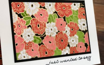 Stampin' Up! Terracotta Tile – Week 43 AWH Colour Creations Showcase