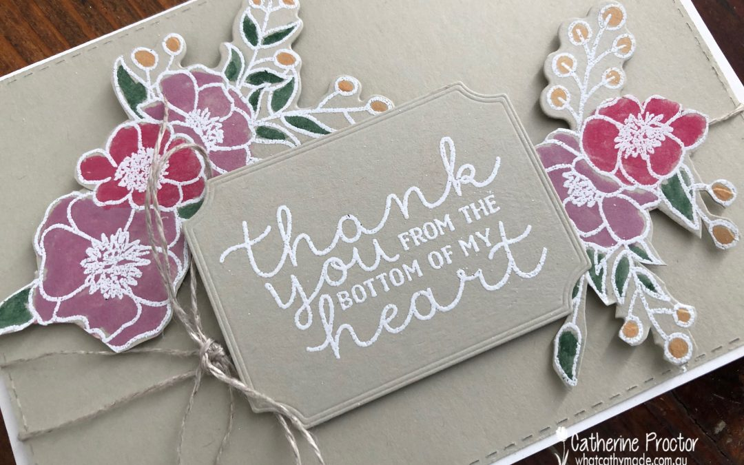 Stampin' Up! Sahara Sand – Week 44 AWH Colour Creations Showcase
