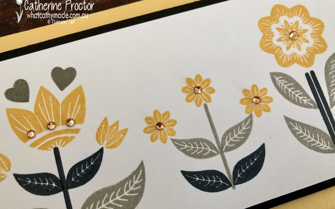 Stampin' Up! So Saffron – Week 48 AWH Colour Creations Showcase