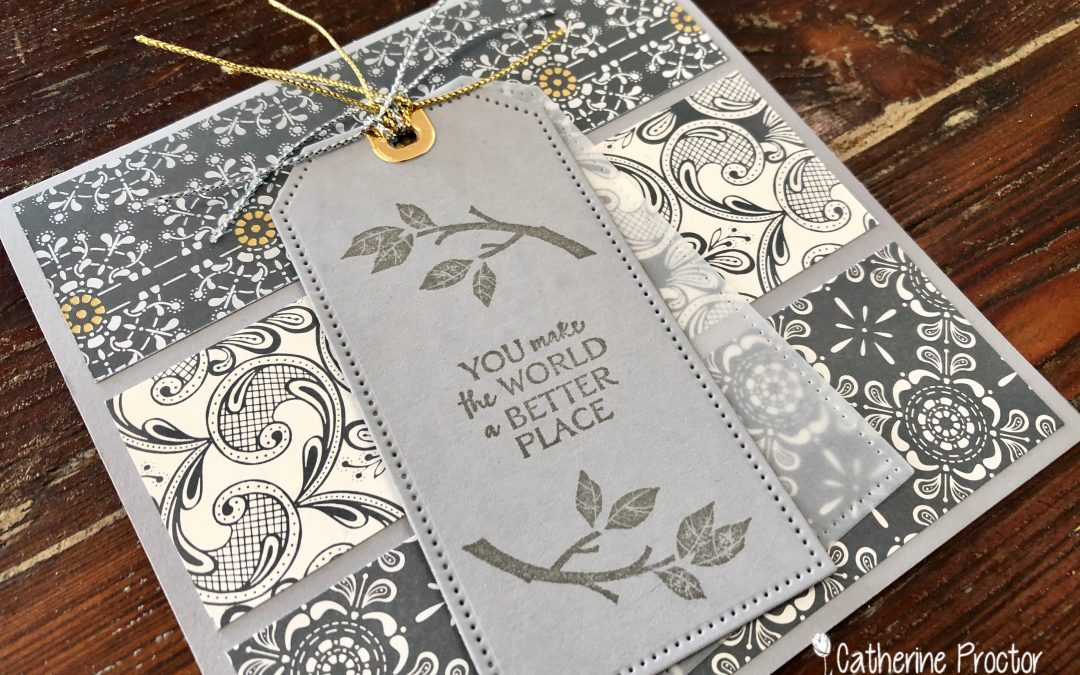 Stampin' Up! Smoky Slate – Week 47 AWH Colour Creations Showcase