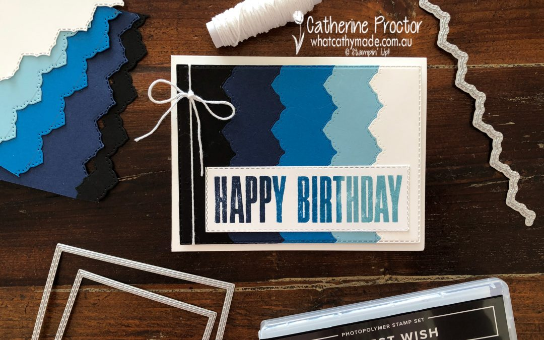 Stampin' Up! Balmy Blue – Week 2 AWH Colour Creations Blog Hop