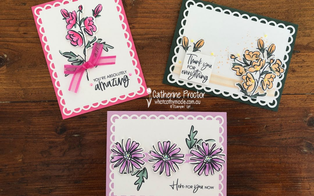Stampin' Up! 2021-23 In Colors – Week 1 AWH Colour Creations Blog Hop