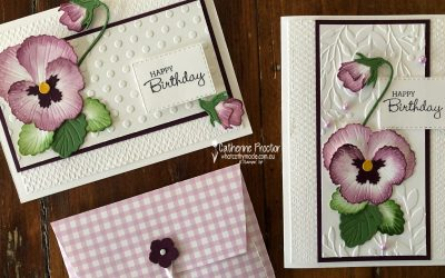 Stampin' Up! Blackberry Bliss – Week 5 AWH Colour Creations Blog Hop