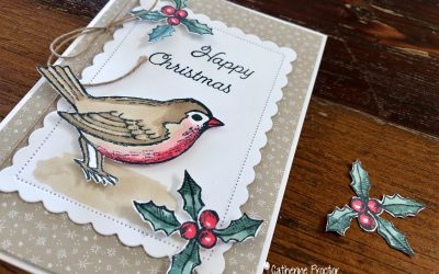 Stampin' Up! AWH Heart of Christmas Week 4