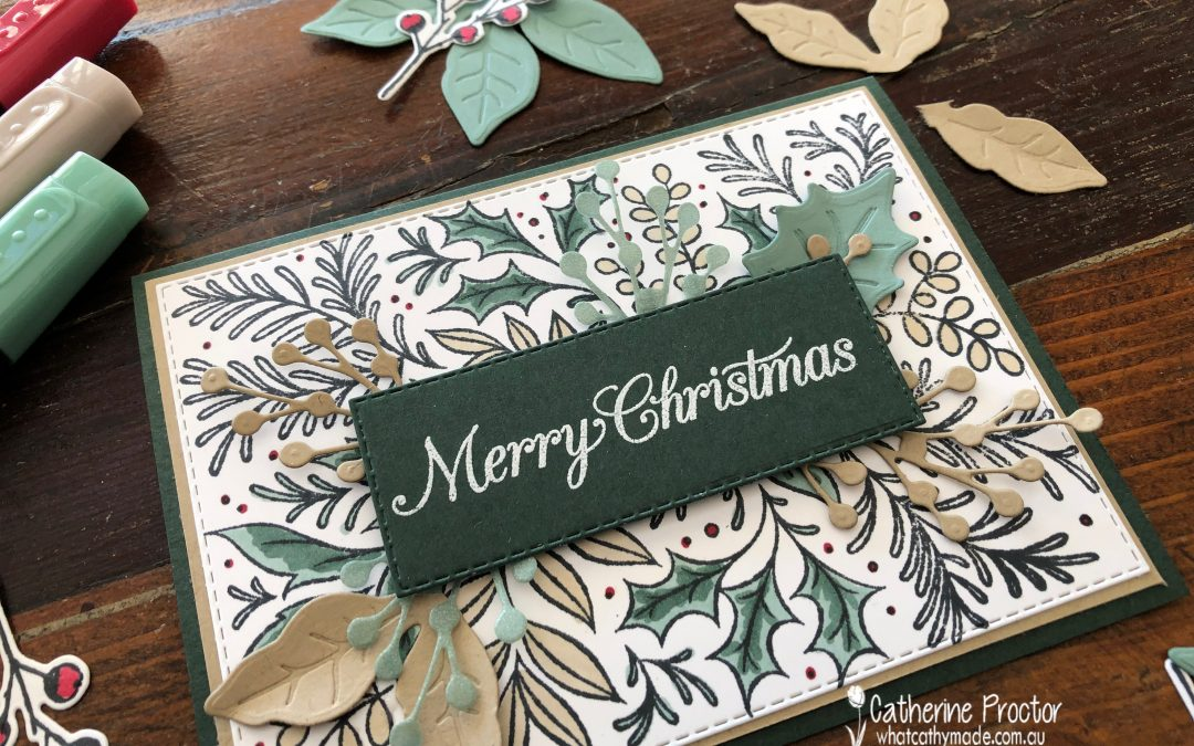 Stampin' Up! AWH Heart of Christmas Week 1