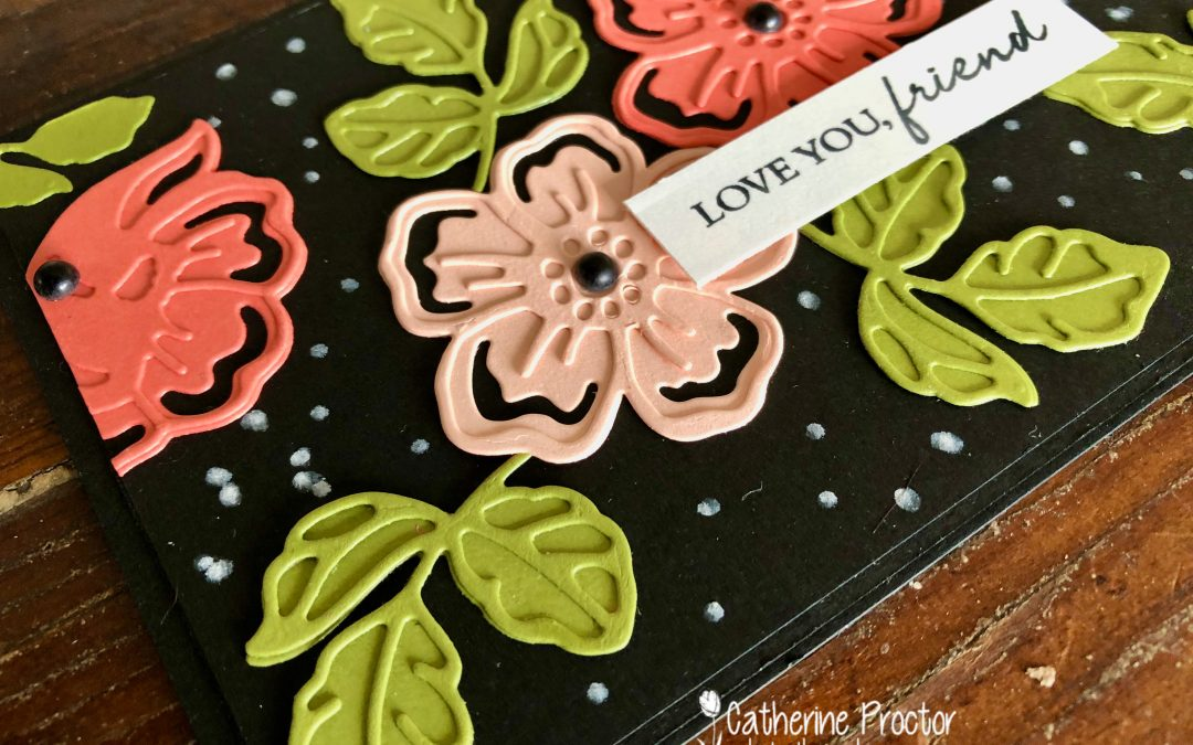 Stampin' Up! Calypso Coral – Week 9 AWH Colour Creations Blog Hop