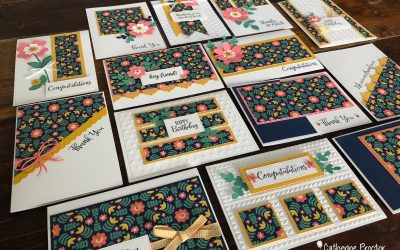 Stampin' Up! Bumblebee – Week 7 AWH Colour Creations Blog Hop