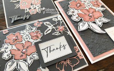 Stampin' Up! Blushing Bride – Week 6 AWH Colour Creations Blog Hop