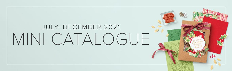 Stampin' Up! July- December 2021 Mini Catalogue