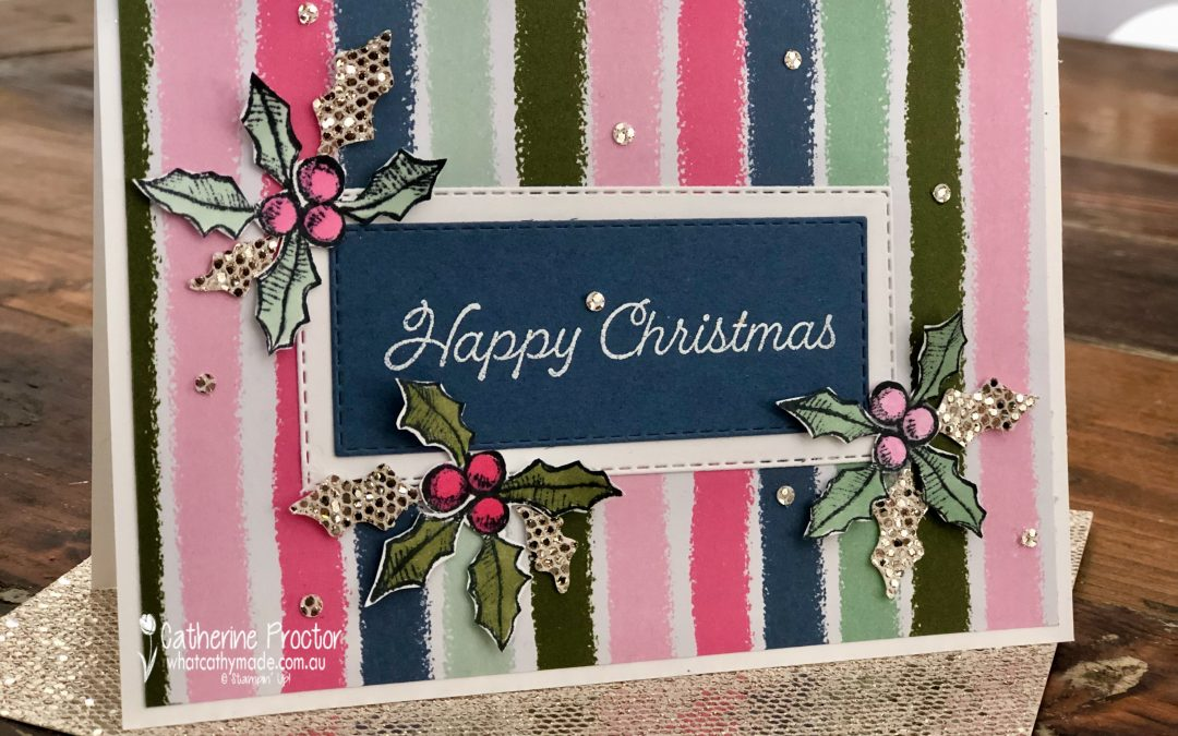 Stampin' Up! AWH Heart of Christmas Week 5