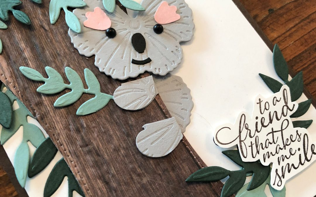 Stampin' Up! Punch and Die Art Koala Card