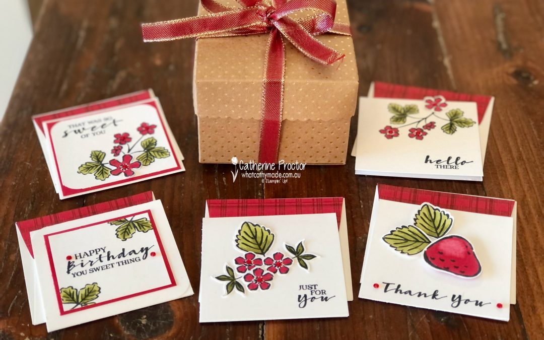 Stampin' Up! Cherry Cobbler – Week 10 AWH Colour Creations Blog Hop