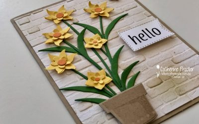 Stampin' Up! Daffodil Delight – Week 15 AWH Colour Creations Blog Hop