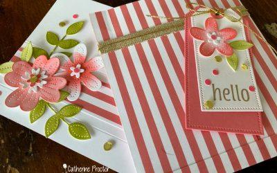 Stampin' Up! Flirty Flamingo – Week 17 AWH Colour Creations Blog Hop