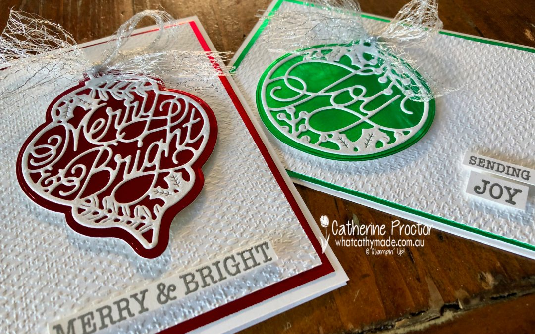 Stampin' Up! AWH Heart of Christmas Week 16