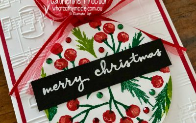 Stampin' Up! AWH Heart of Christmas Week 15