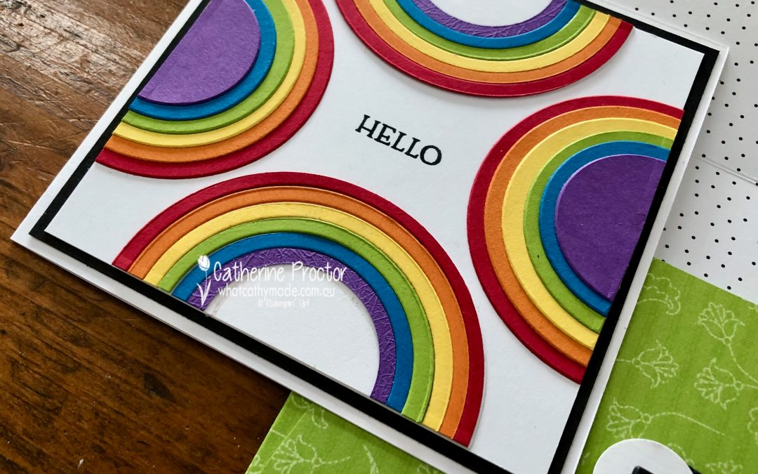 Stampin' Up! Granny Apple Green – Week 20 AWH Colour Creations Blog Hop