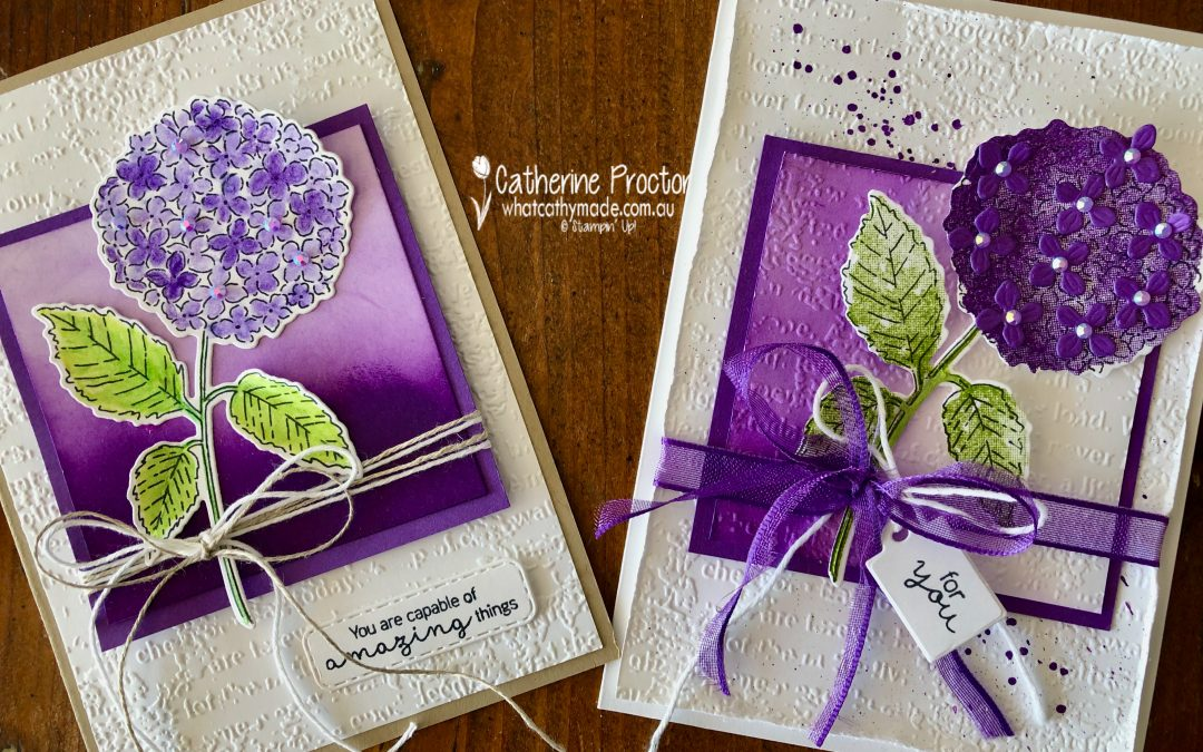 Stampin' Up! Gorgeous Grape – Week 19 AWH Colour Creations Blog Hop