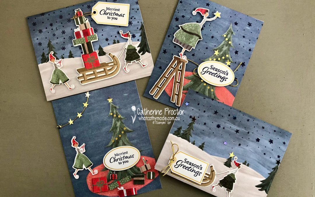 Stampin' Up! AWH Heart of Christmas Week 14
