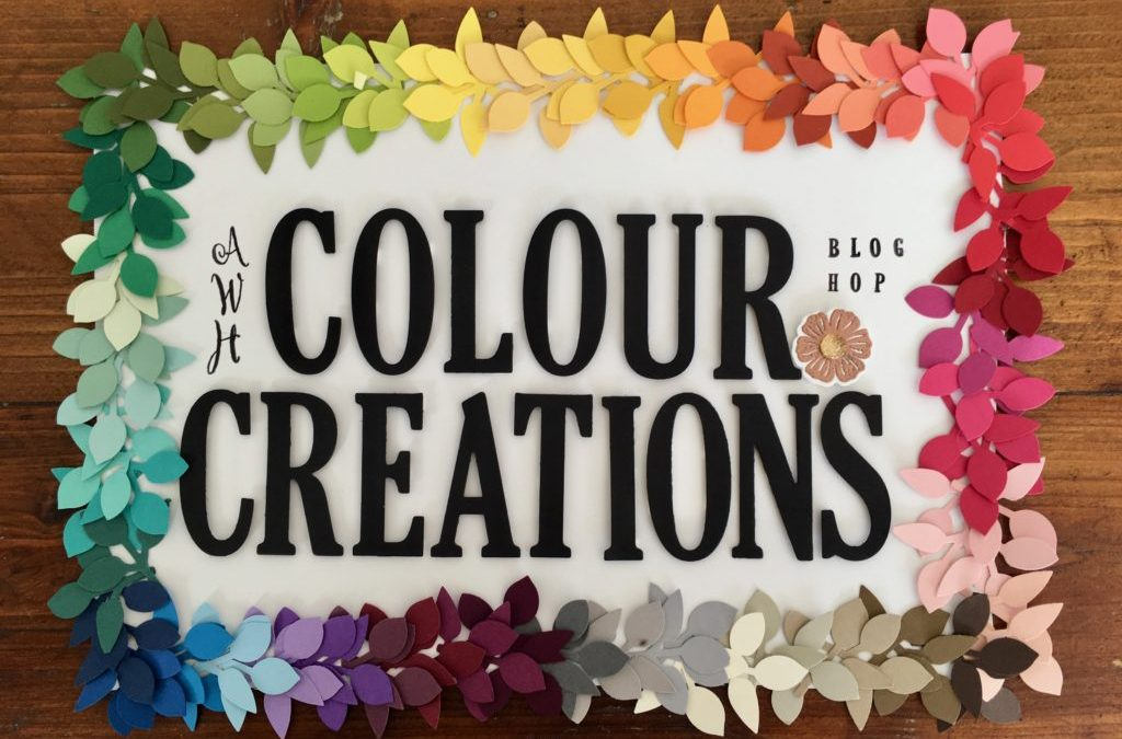 Art With Heart Colour Creations Blog Hop: Week 55 Purple Posy